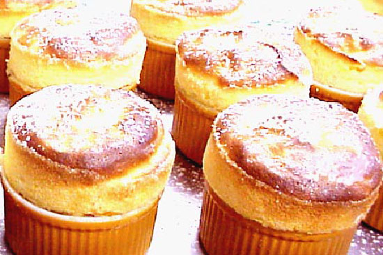 Apricot soufflé - A recipe by Epicuriantime.com