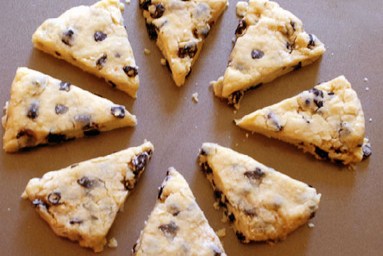 Blueberry scones  - A recipe by Epicuriantime.com