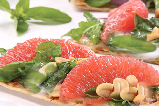 Grapefruit salad - A recipe by Epicuriantime.com