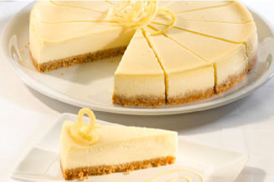 Lemon cheese cake - A recipe by wefacecook.com