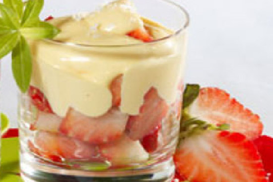 Strawberries with zabaglione sauce - A recipe by Epicuriantime.com
