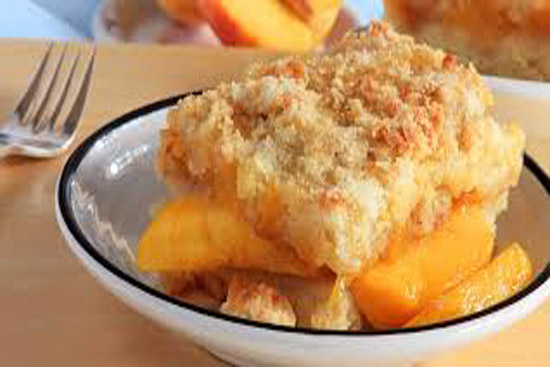 Peach cobbler #2 - A recipe by Epicuriantime.com