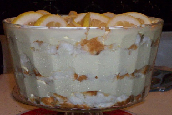 Lemon trifle - A recipe by Epicuriantime.com
