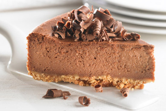 Bittersweet chocolate truffle cheese cake - A recipe by Epicuriantime.com