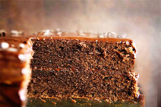 Black chocolate espresso cake - A recipe by Epicuriantime.com