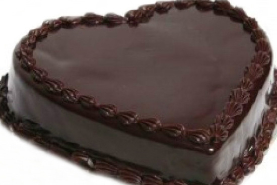 Valentine truffle cake - A recipe by Epicuriantime.com