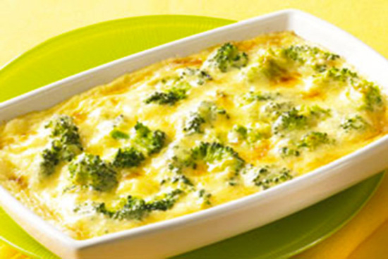 Broccoli au gratin - A recipe by Epicuriantime.com
