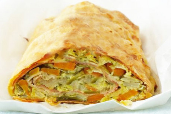 Vegetable cheese strudel - A recipe by Epicuriantime.com