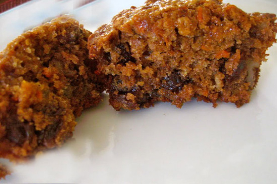 Carrot bran muffins - A recipe by wefacecook.com