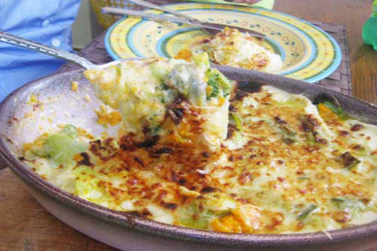 Leeks au gratin - A recipe by Epicuriantime.com