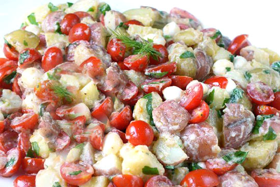 Balsamic potato salad - A recipe by Epicuriantime.com