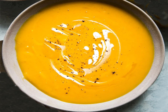 Butternut squash and apple soup - A recipe by Epicuriantime.com