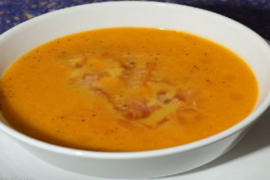 Kabocha squash soup - A recipe by Epicuriantime.com