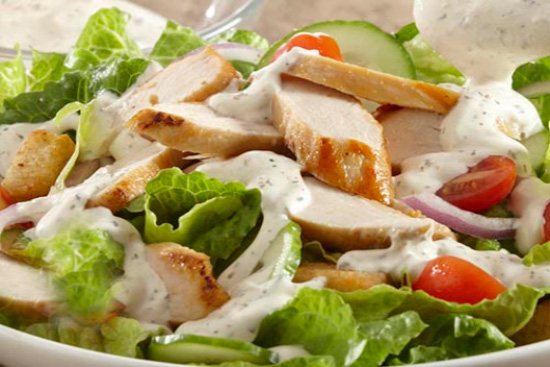 Parmesan and basil chicken salad - A recipe by Epicuriantime.com