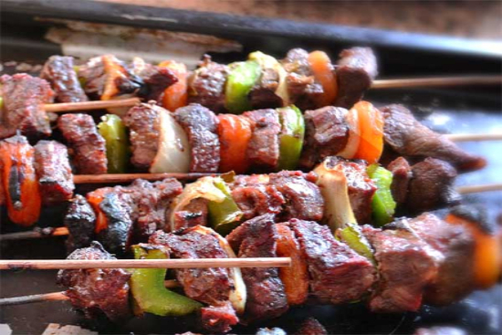 Brochettes of lamb - A recipe by Epicuriantime.com