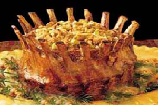 Crown roast of pork with stuffing - A recipe by Epicuriantime.com