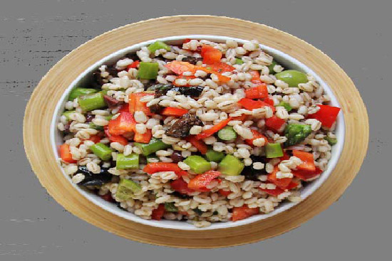 Barley supper salad - A recipe by Epicuriantime.com
