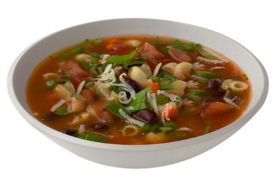 Vegetarian minestrone - A recipe by Epicuriantime.com