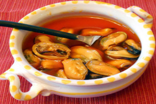 Marinated mussels - A recipe by Epicuriantime.com