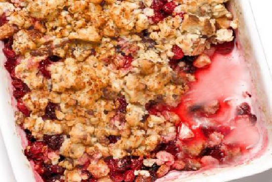 Apple cranberry crisp - A recipe by Epicuriantime.com