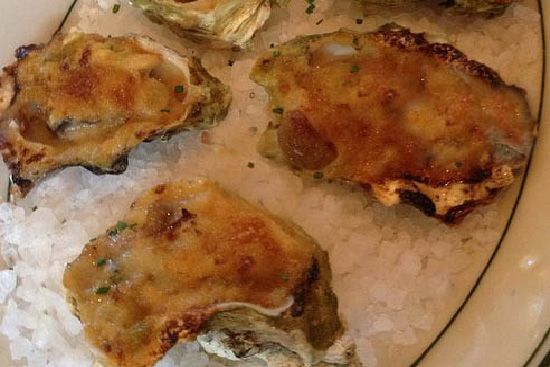 Baked oysters with wild mushroom ragout - A recipe by Epicuriantime.com