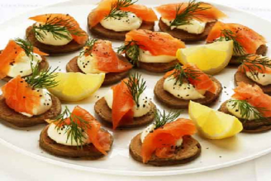 Potato galettes with smoked salmon and dill creme fraiche - A recipe by Epicuriantime.com