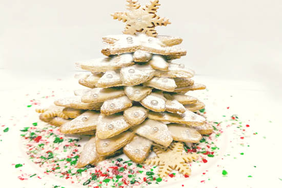 Cookie chistmas tree - A recipe by Epicuriantime.com