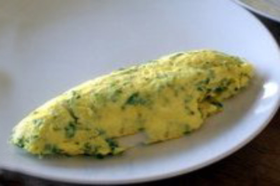 Gruyere and parsley omelets - A recipe by Epicuriantime.com