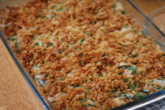 Green bean casserole - A recipe by Epicuriantime.com