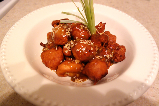 Asian cauliflower - A recipe by Epicuriantime.com