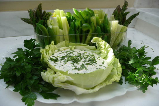Green goddess mayonnaise - A recipe by Epicuriantime.com