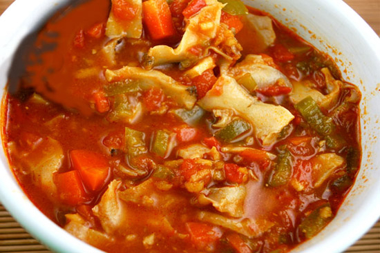 Caribbean conch stew