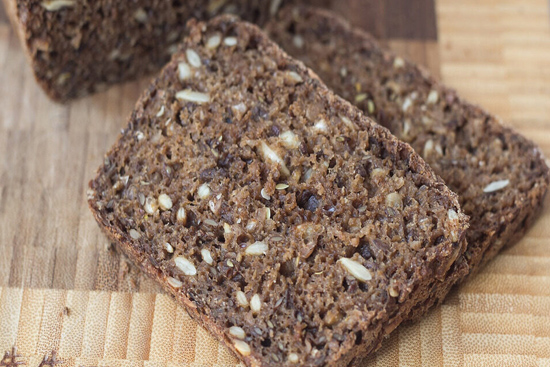 Danish rye bread  rugbrod - A recipe by Epicuriantime.com